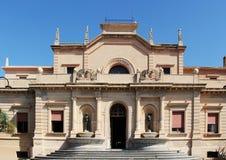 Die thermae von sciacca, Sizilien Lizenzfreie Stockbilder