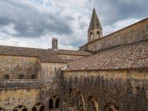 Die Thoronet-Abtei in Frankreich Lizenzfreies Stockfoto