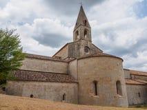 Die Thoronet-Abtei in Frankreich Lizenzfreie Stockfotografie