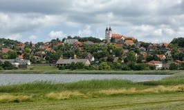Die Tihany-Halbinsel in Ungarn Stockbild