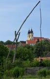 Die Tihany-Halbinsel in Ungarn Lizenzfreie Stockbilder