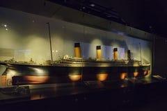 Die titanische Ausstellungs-Mitte stockfoto