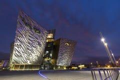 Die titanische Belfast-Erfahrung Lizenzfreies Stockbild