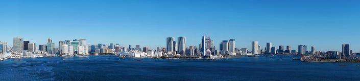 Die Tokyo-Skyline stockbild