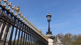 Die Tore von Buckingham stockfotos