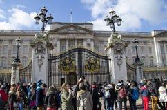 Buckingham Platz Lizenzfreies Stockbild