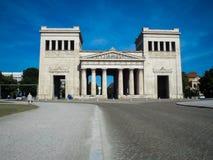 ` Die Tore von Sieg ` Bogen nahe dem München-Museum stockfoto