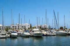 Die Tore zum Jachthafen in Hafen-EL Kantaoui Lizenzfreie Stockfotografie