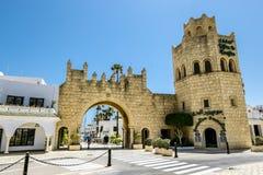 Die Tore zum Jachthafen in Hafen-EL Kantaoui Stockbild