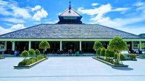 Die traditionelle Moschee in Indonesien Masjid Demak stockfotografie