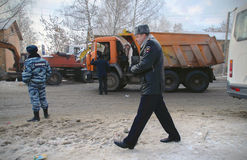 Die Tragödie in Iwanowo stockfoto
