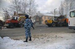 Die Tragödie in Iwanowo lizenzfreie stockfotografie
