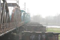 Die trailroad Brücke Lizenzfreie Stockbilder