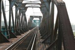 Die trailroad Brücke Lizenzfreie Stockfotografie