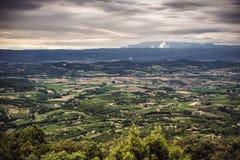 Die traurige Provence Stockfoto