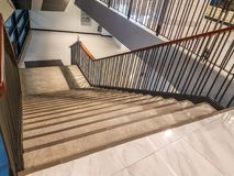 Die Treppe Lizenzfreie Stockfotos