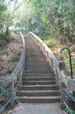 Die Treppe zur Spitze von PHRA DAS PHUPEK Lizenzfreie Stockfotografie