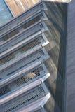 Die Treppenschritte in der Diagonale Stockfoto