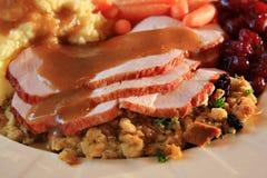 Die Türkei-Abendessen Stockfoto
