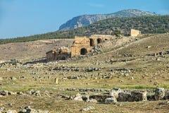 Die Türkei zu den Ruinen Lizenzfreies Stockbild