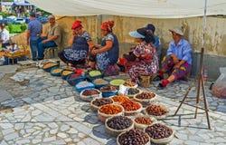 Die Trockenfrüchte stockbild