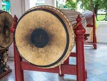 Die Trommel am Marmortempel, Bangkok Thailand Lizenzfreie Stockfotos