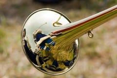 Die Trompete stockbilder