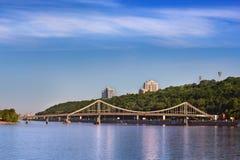 Die Trukhanov-Brücke Lizenzfreies Stockfoto