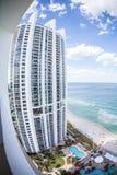 Die Trumpf-Kontrolltürme in Miami Lizenzfreies Stockfoto