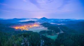 Die tschechische Schweiz lizenzfreie stockfotografie