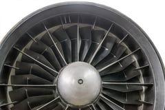 Die Turbine des Strahltriebwerks stockfotos