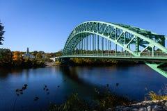 Die Tyngsborough-Brücke Lizenzfreies Stockfoto