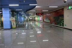 Die U-Bahnhalle Lizenzfreie Stockfotografie