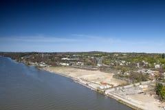 Die Ufer von Poughkeepsie Stockfotografie