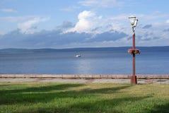 Die Ufergegend stockbild
