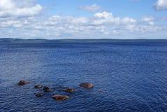Die Ufergegend stockfoto