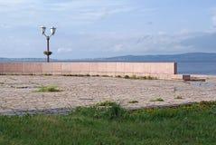 Die Ufergegend stockbilder