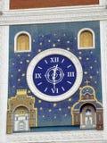 Die Uhr auf dem Gebäude der nationalen Kunstgalerie Lizenzfreies Stockbild