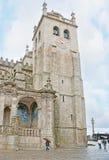 Die Uhr auf dem Glockenturm Lizenzfreie Stockfotografie