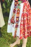Die ukrainischen nationalen Klage der Frauen lizenzfreie stockbilder