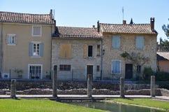 Die umfangreichen römischen Ruinen an der Vaison-La-Sommerendivie, Provence, Frankreich Stockfotos