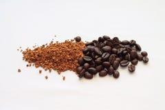 Die Umwandlung des Kaffees Stockbild