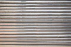 Die umwickelnde Stahltür Lizenzfreies Stockfoto