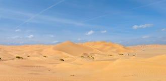 Die Unebenheit-Al Khali Wüste Stockbilder
