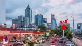 Die Uni in Atlanta stock video footage