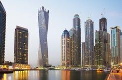 Die United Arab Emirates Die Dubai-Ufergegend Stockbilder