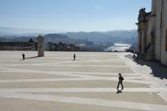 Die Universität von Coimbra Lizenzfreies Stockbild