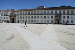 Die Universität von Coimbra Stockbild