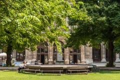 Die Universität von Wien (Universitat Wien) Lizenzfreies Stockbild