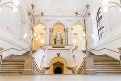 Die Universität von Wien (Universitat Wien) Lizenzfreie Stockbilder